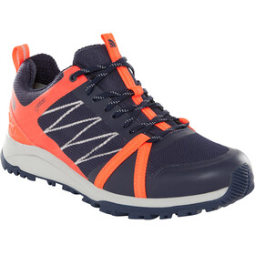 The North Face Litewave Fastpack II GTX - Chaussures Femme - orange/bleu